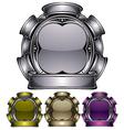industrial emblem vector image