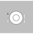 tableware computer symbol vector image