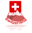 Switzerland icon vector image vector image