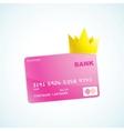 vip credit card vector image
