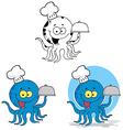 Cartoon octopus design vector image vector image