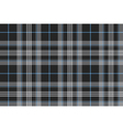 platinum tartan fabric texture seamless background vector image