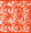 background from red roses vector image