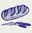 Long loaf vector image
