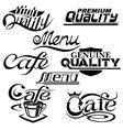 textdesign elements vector image vector image