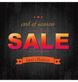 Color Sale Poster With Text vector image vector image