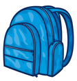 bag pack - backpack vector image