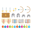 Set of Icons - Fantasy vector image