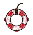 lifesaver icon image vector image