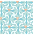 Abstract floral seamless background in pastel hues vector image