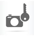 camera image security symbol icon vector image