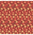 Chocolate bars seamless pattern vector image