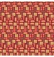 Chocolate bars seamless pattern vector image