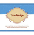 Your design vector image