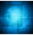 Blue design vector image vector image