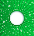 Christmas applique background for your desi vector image
