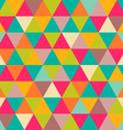 Triangles pattern vector image