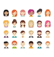 Collection of different avatars vector image