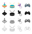 attributes care tools and other web icon in vector image