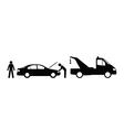 Car breakdown vector image