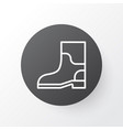 gardening shoes icon symbol premium quality vector image