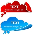paper speech bubble vector image