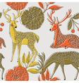 deer nature wallpaper vector image vector image