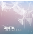 Geometric Polygonal abstract background vector image