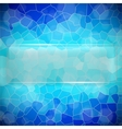 Crystallize background vector image