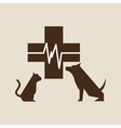 pet care concept design vector image