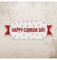 Happy Canada Day realistic Emblem vector image