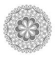 mandala vintage decoration geometric pattern vector image