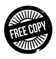 Free Copy rubber stamp vector image