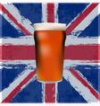 British Pint vector image vector image