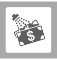 Money Laundry Icon from Commerce Buttons OverColor vector image