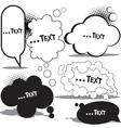cloud bubble for speech vector image vector image