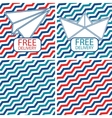 Set of free shipping on the vector image