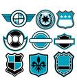 badge symbol vector image