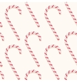 candy cane pattern vector image