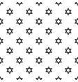 Star of David pattern simple style vector image