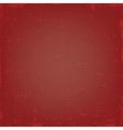 Vintage red grunge texture or background vector image