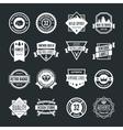 Set of logotypes elements labels badges vector image