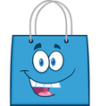 Colored shopping bag vector image vector image