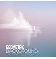 Sci fi geometric polygonal abstract background vector image