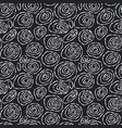 doodle sketch seamless pattern with dotted circles vector image