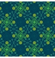 Abstract floral spring pattern vector image