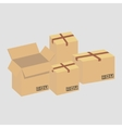 brownboxes vector image