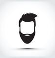an icon of a face vector image vector image