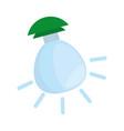 isolated ecologic bulb vector image