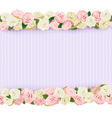 Wedding Flower Frame vector image